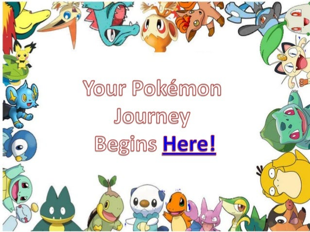 Pokémon   your journey
