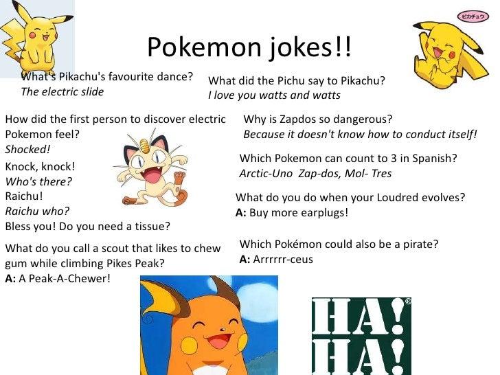 Pokemon Knock Jokes Images