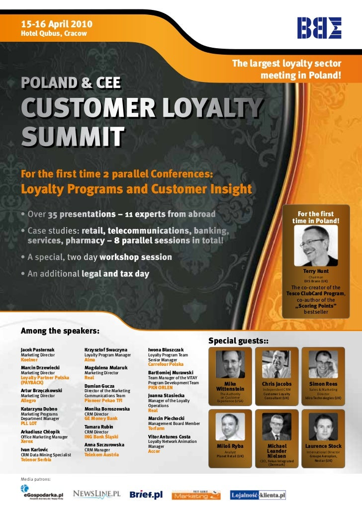 Cee Customer Loyalty Marketing Summit Poland