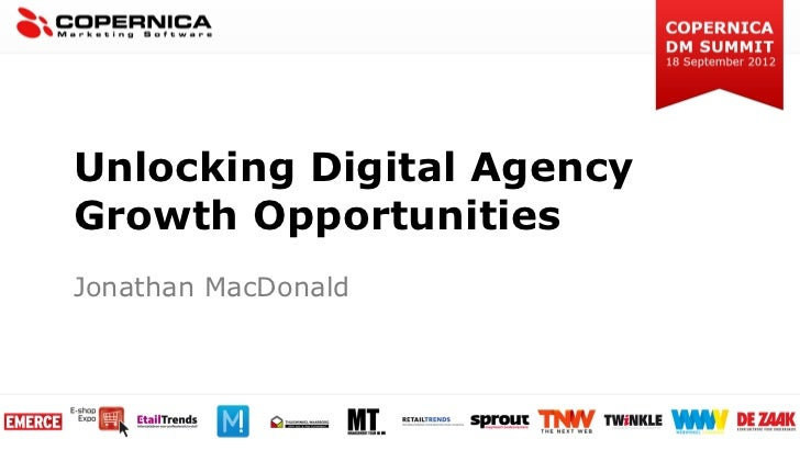 Unlocking Digital AgencyGrowth OpportunitiesJonathan MacDonald