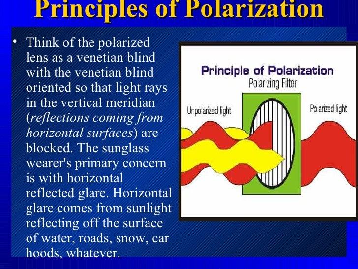 polarization of sunglasses  Polarized sunglasses