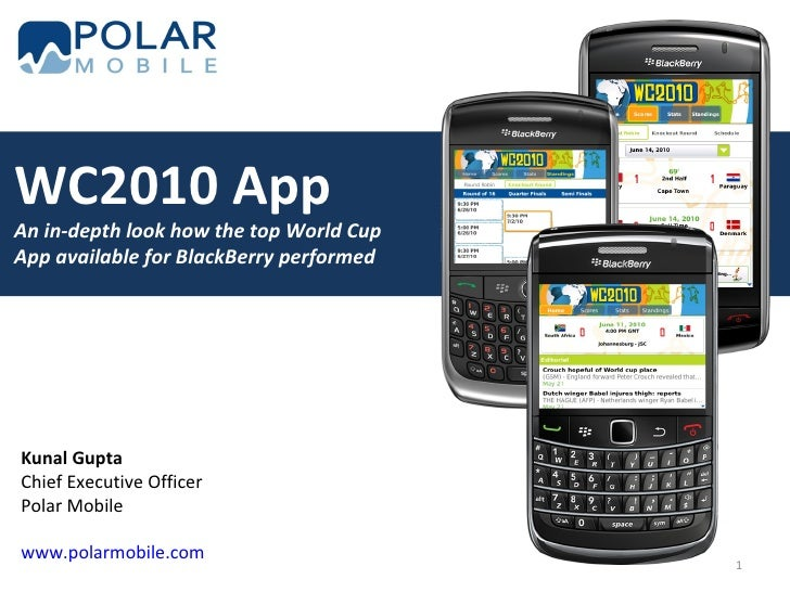 Polar Mobile - WC2010 Presentation
