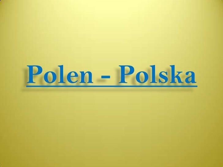 Polen - Polska