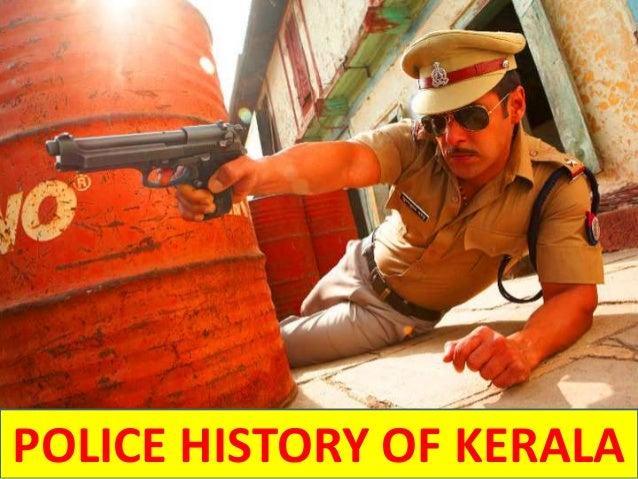 POLICE HISTORY OF KERALA