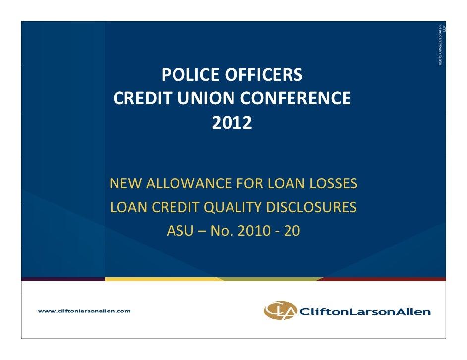 ©2012 CliftonLarsonAllen                                                                               LLP     POLICEOFFI...