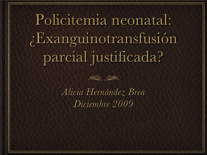 Policetemia_neonatal