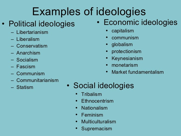 what is an ideology essay Political ideologies are a coherent and consistent set of political beliefs about who ought to rule, the principles rulers ought to obey, and what policies rulers ought to pursue political ideology in american society can get a little confusing.