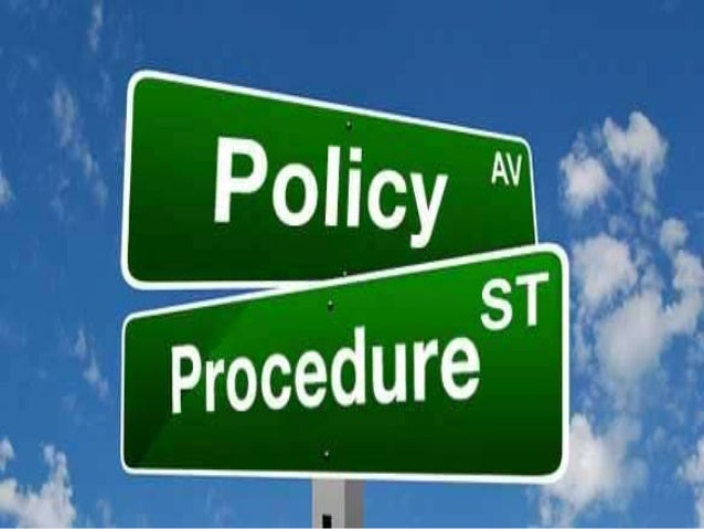 policies and procedure for alliance performance Policies and procedures that guide cooperation (varma et al, 2015) trust and   all the multiple aspects of strategic alliances performance.