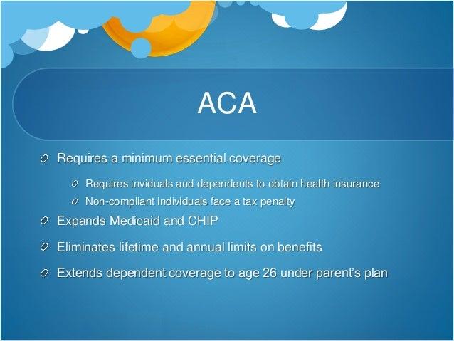 Policy economics for Minimum essential coverage plan design