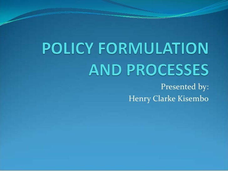 policy formulation 'handbook of policy formulation is an exceptional achievement it carefully explains exactly what was composed by policy formulation, why it is so important both as a focus of research in its own right as well as an integral part of the policy process, an.