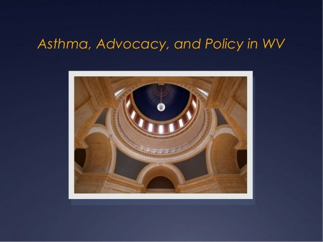 Asthma, Advocacy, and Policy in WV