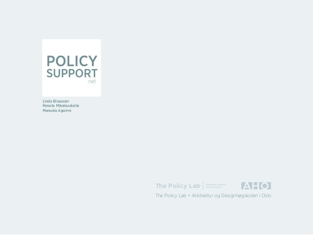 Policy support full presentation