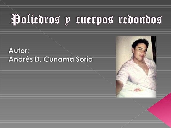 Poliedros Y Cuerpos Redondos1