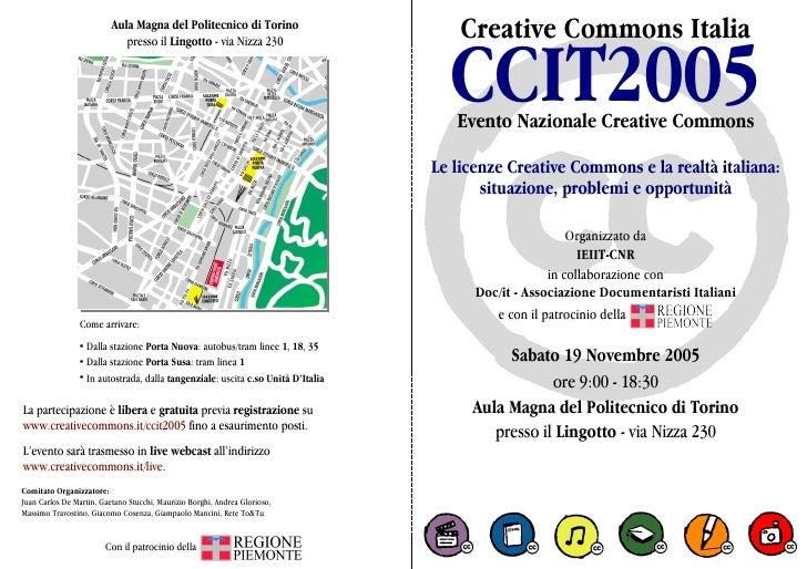Creative Commons Italia - CCIT2005 - Polimetrica
