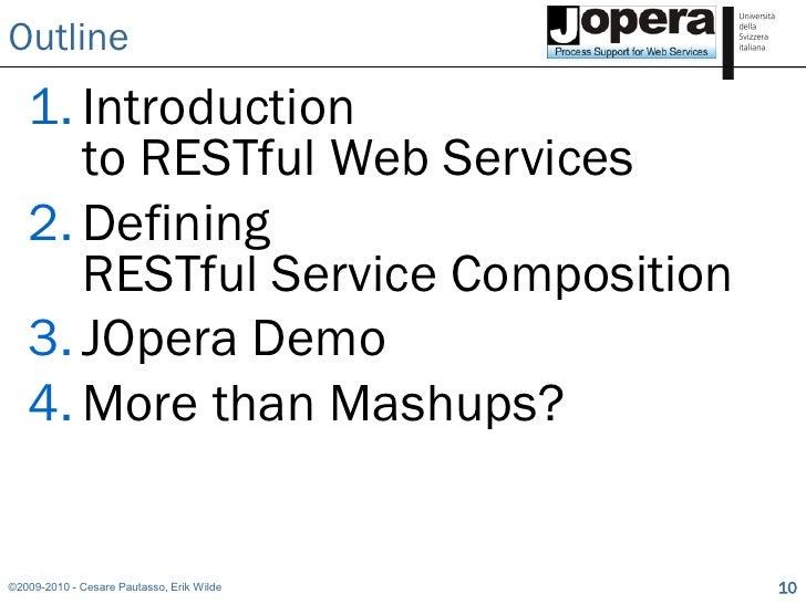 Web service composition thesis