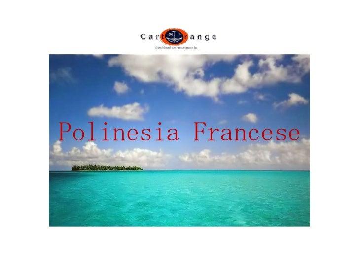 Polinesia Francese<br />