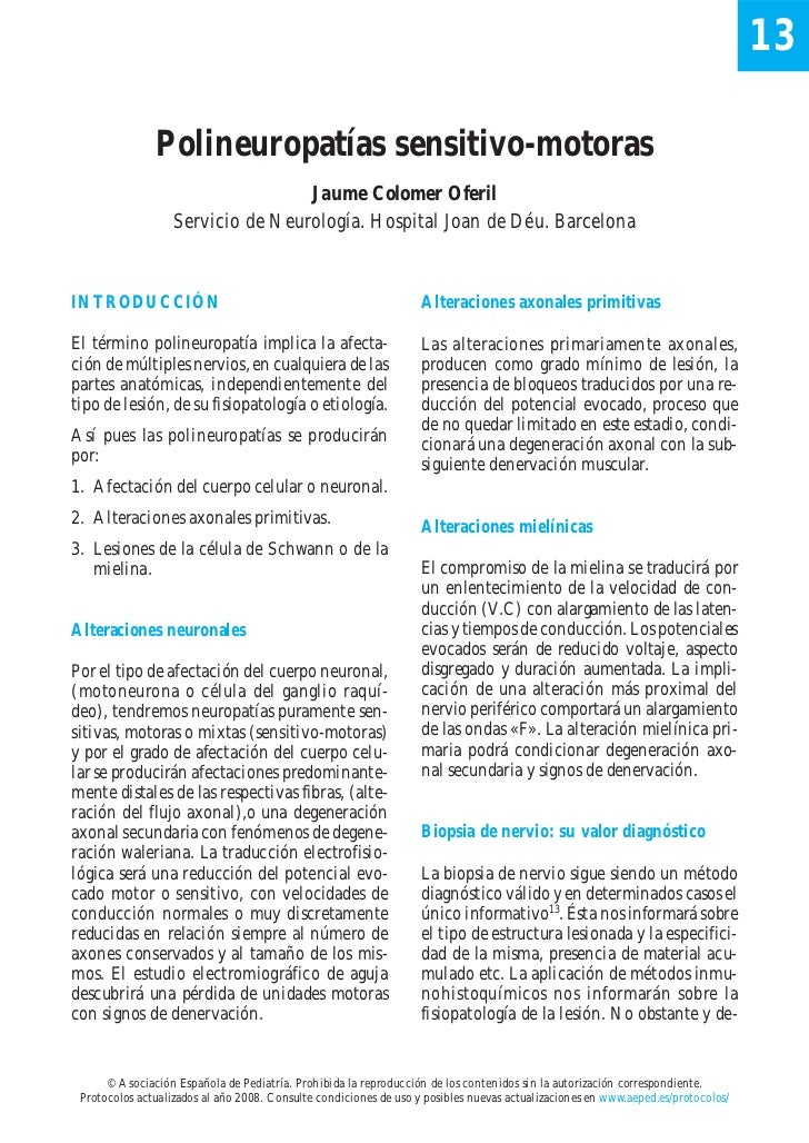 13               Polineuropatías sensitivo-motoras                                   Jaume Colomer Oferil                 ...