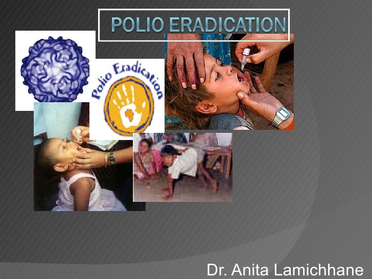 Polio eradication program