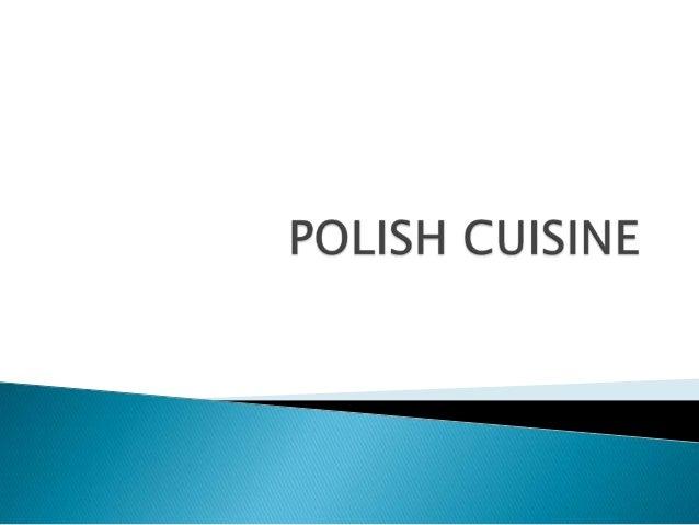 Polish cuisine