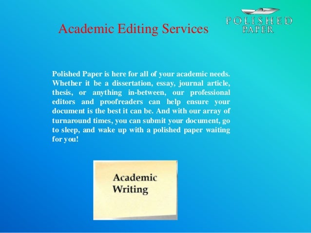 Best college essay editing services