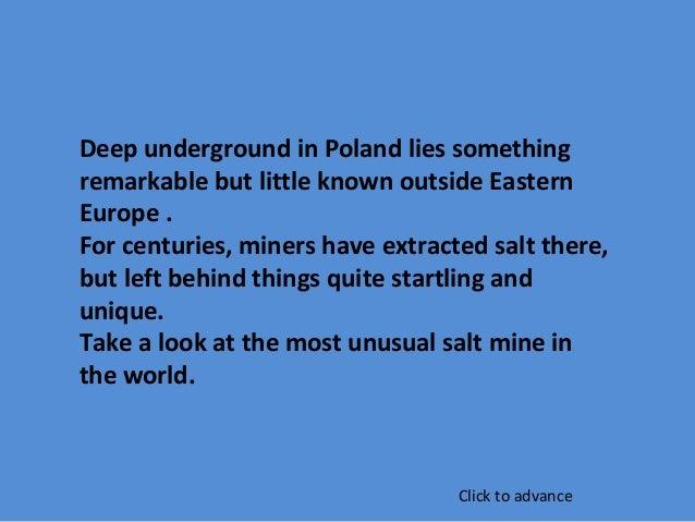 Wieliczka Polish Salt Mine