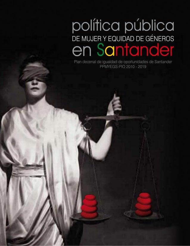 Politica publica-mujer-equidad-genero-santander