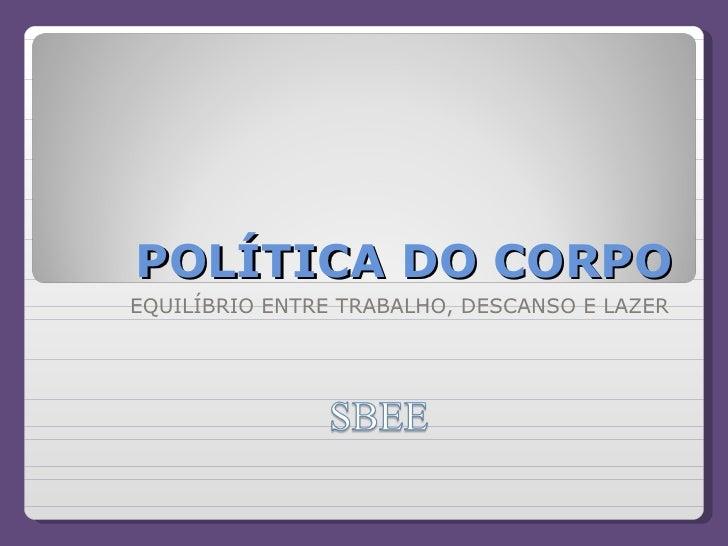 Politica Corpo