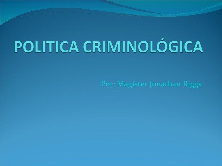 Politica criminologica.ppt 2