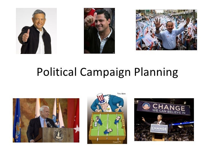 Political Campaign Planning1
