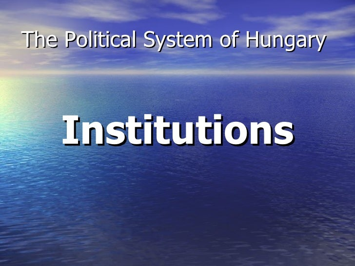 Political System Of Hungary 2