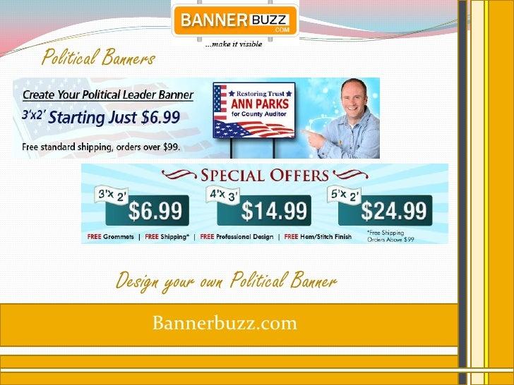Political Banners           Design your own Political Banner                Bannerbuzz.com