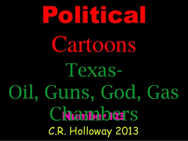 Political cartoons #123 texas