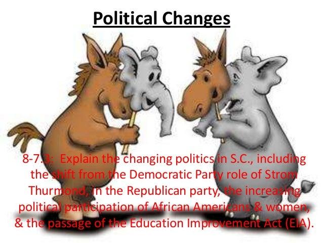 Political changes8 7.3