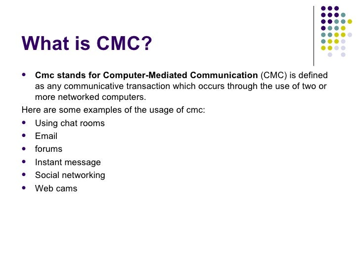 Political Communication In Cmc