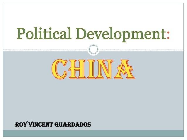 China: Political Development