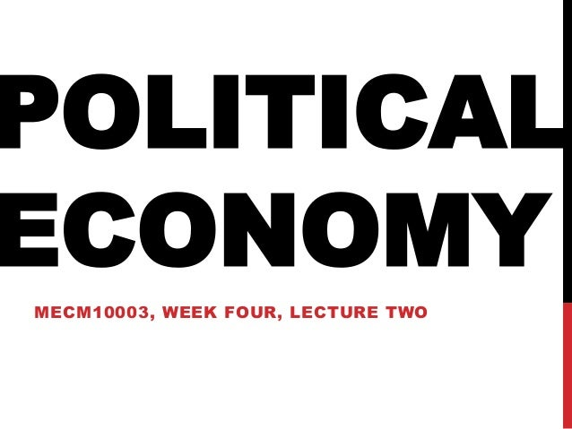 Political economy in Media studies