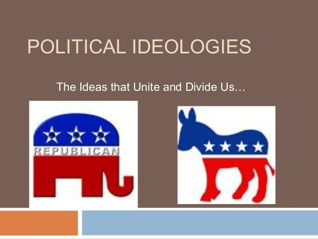 POLITICAL IDEOLOGIES The Ideas that Unite and Divide Us…