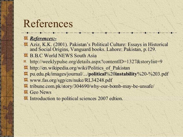 political situation in pakistan essay Political chaos in pakistan essay writing service, custom political chaos in pakistan papers, term papers, free political chaos in pakistan samples, research papers, help.