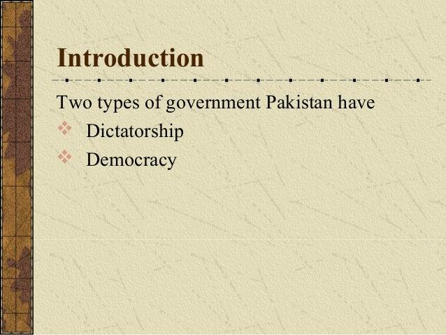 Essay politics pakistan