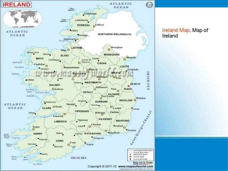 Ireland Map, Map ofIreland