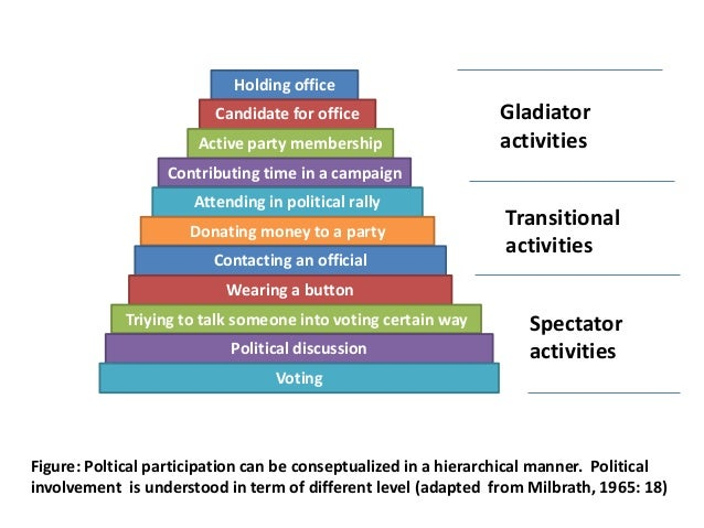 an overview of the different forms of political participation It is important for voters to understand the different types of primary an overview and legal minor party voters full participation in the political.