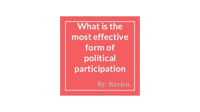 understanding of politics as a form The political science of public opinion  up different considerations to form them  of american public opinion in order to understand what america's national .