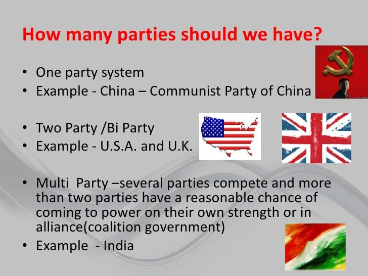 two party system 1 The two-party system two-party systems are prominent in various countries, such as the us, and contain both advantages and disadvantages.