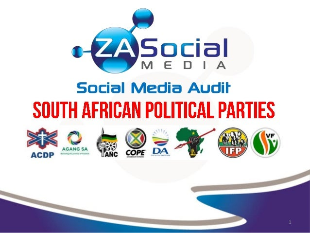 Updated: Social Media Audit - South African Political Parties