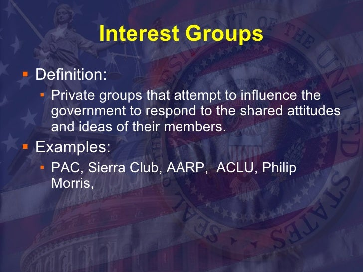 interest group common cause  owner or run a special interest group, if you want to be a big election   according to a 2016 report by the watchdog group common cause.