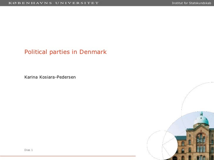 Political Parties in Denmark