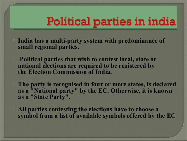 Political Parties Essay