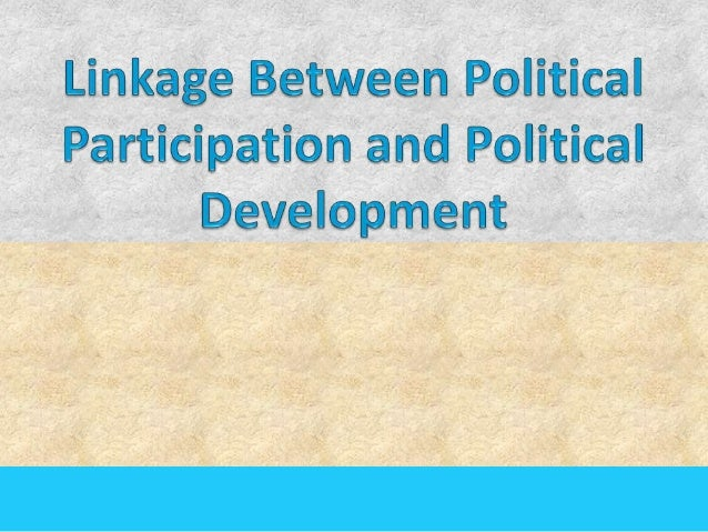 Contents Political participation Types of Political Participation Forms of Political Participation Demographic Charact...
