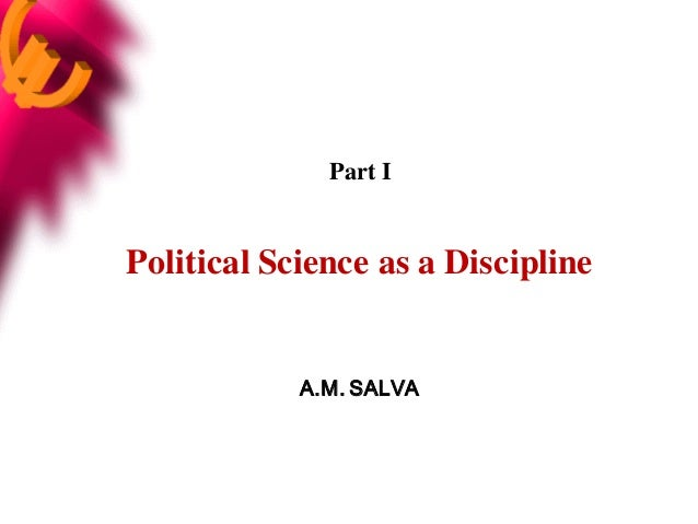 Political science part i