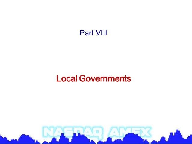 Political science part viii